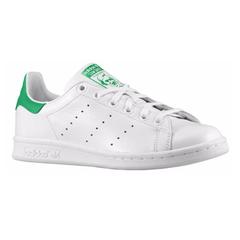 290元小绿尾在喊你了,还包邮噢!Adidas Originals 三叶草 Stan Smith 小绿尾运动鞋 大童款 $39.99(约290元)