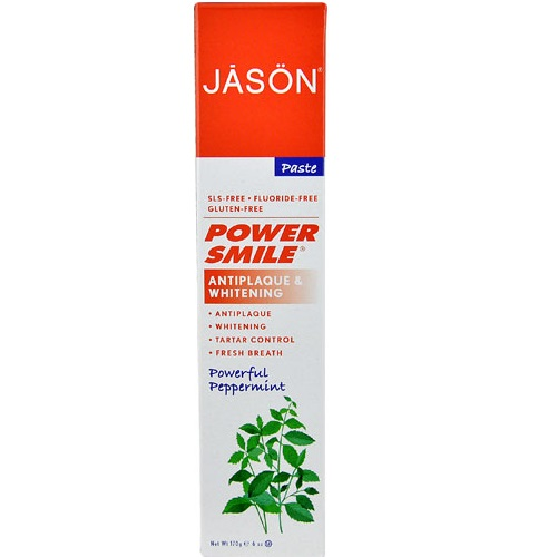 Jason PowerSmile 天然无氟抗菌斑美白牙膏 170g $2.98(约20元)