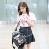 陈妍希同款 MOSCHINO Rat-A-Porter backpack 背包