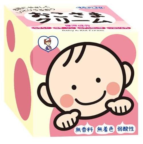 3件9.3折!TO-PLAN 婴儿/儿童保湿滋润面霜110g 弱酸性无香料