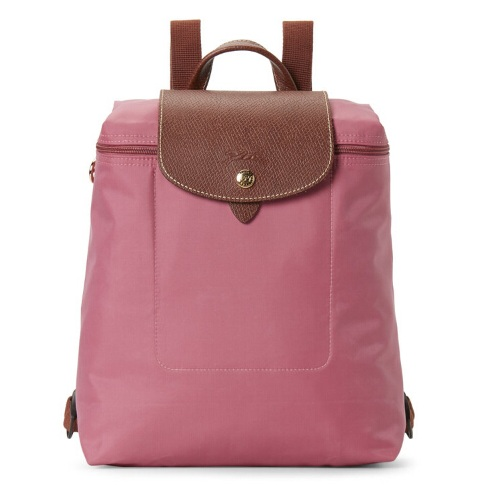 LONGCHAMP Pinky Le Pliage Backpack 粉色尼龙背包