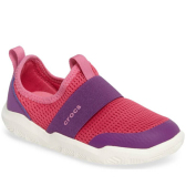 Crocs Swiftwater Slip-On 童款粉色一脚蹬
