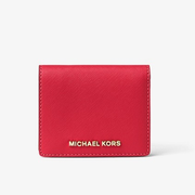 MICHAEL Michael Kors Jet Set Travel 十字纹牛皮短钱夹 2色选