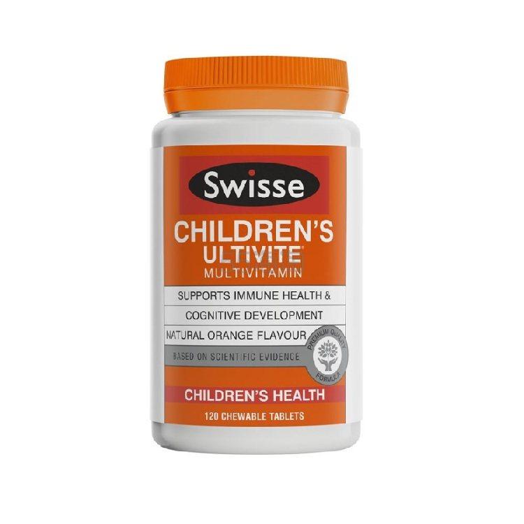 【5.5折+再减10澳】Swisse 儿童复合维生素咀嚼片 120片 10.49澳币(约50元) - 海淘优惠海淘折扣|55海淘网