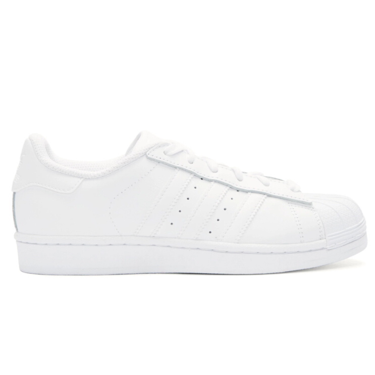 us8 还有货~adidas Originals White Superstar Sneakers 女款纯白运动鞋