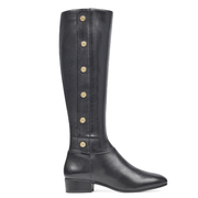 Nine West Oreyan Tall Boots 女款真皮帅气长靴