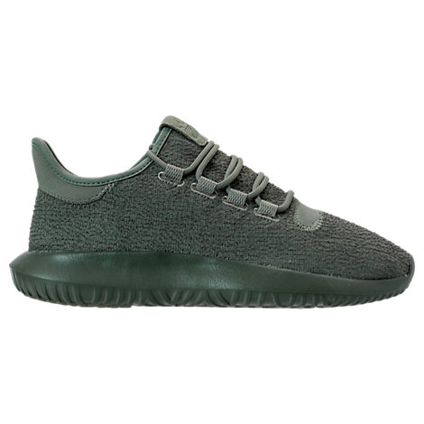白菜价!Adidas Originals 三叶草 Tubular Shadow 大童款休闲鞋 墨绿色