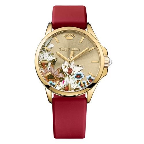 5折咯!Juicy Couture 橘滋 JETSETTER 中国风女士腕表 $72.5(约525元)