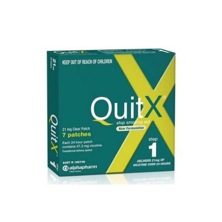 戒烟从现在开始!QuitX 尼古丁戒烟贴片 第一阶段 AU$23 86(约130元)
