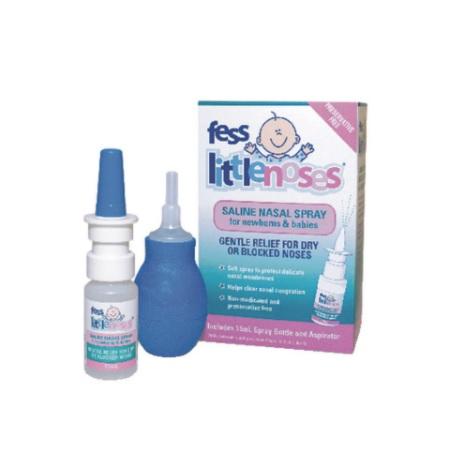 含税包邮!Fess 婴幼儿盐水通鼻喷雾剂 15ml+吸鼻器 AU$11 95(约65元)