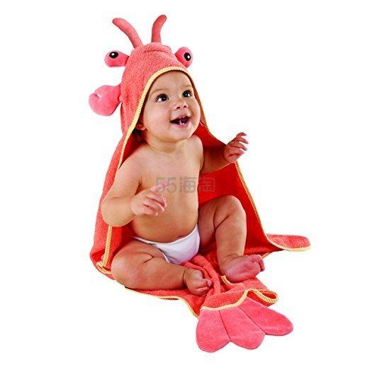 Baby Aspen 龙虾婴儿连帽浴袍 .41(约145元)