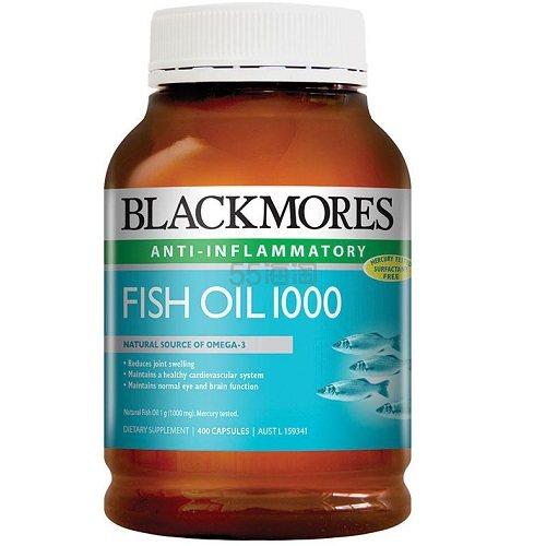 Blackmores 澳佳宝 深海鱼油胶囊 1000mg 400片 AU.99(约92元)
