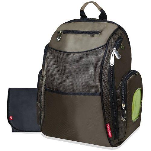 【中亚Prime会员】Fisher-Price Fastfinder 棕色妈咪背包 到手价349元
