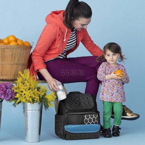 【中亚Prime会员】Skip Hop 随身行妈妈包 11 个口袋 黑色 到手价466元