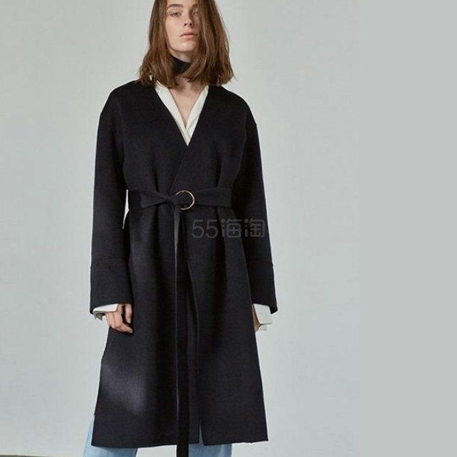 Front Row X Recto 联名系列 深蓝色大衣 8.4(约4580元)