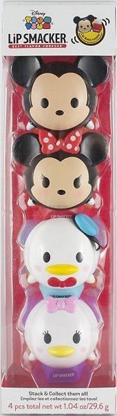激萌!Lip Smaker 迪士尼 Tsum Tsum 润唇球×4个 $17.99(约108元)