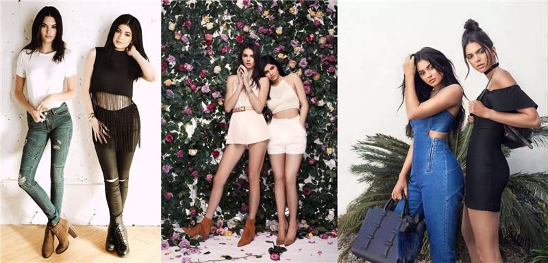 Spring:Kendall & Kylie  Instagram 两大人气姐妹网红 同名品牌美衣 低至$15