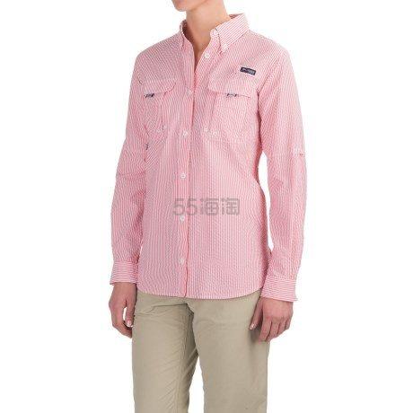 Columbia 哥伦比亚 Super Bahama UPF30 女士长袖衬衣 .99(约217元)