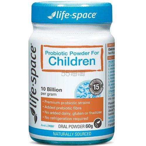 Life Space 儿童益生菌 60g AU.99(约103元)