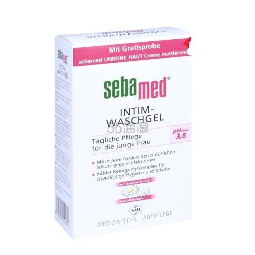 包邮包税!Sebamed 施巴 女性私处清洗护理液 pH3.8 200ml 5.99欧(约46元)