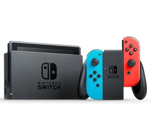 【日亚直邮】预定:Nintendo 任天堂 SWITCH 游戏机(带膜版)36679日元(约2274元)