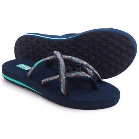 Teva Olowahu Flip-Flops 女士夹脚人字拖 .99(约94元)