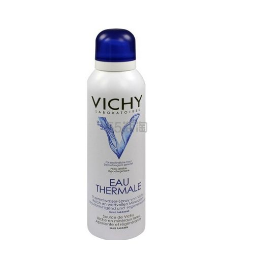 【55海淘节】Vichy 薇姿 温泉矿物水喷雾保湿舒缓 150ml 10.24欧(约79元)