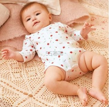 Mapleland 麦宝莲针织贴身连体三角哈衣 60~80cm 1176日元(约75元),凑单4件满4500日元免运费