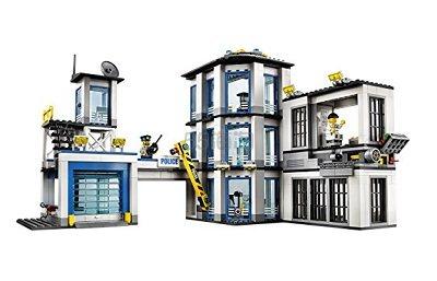 【美亚自营】LEGO City 乐高城市系列警察总局 60141 $83.99(约608元)