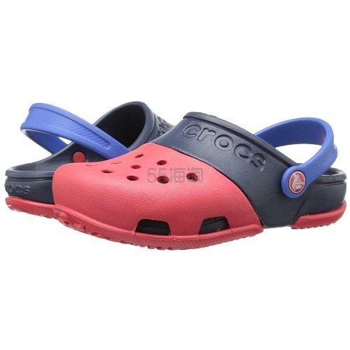 【中亚Prime会员】Crocs 卡骆驰 Electro II代 儿童平底洞洞鞋 到手价89元