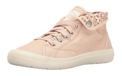 【美亚直邮】Palladium 帕拉丁 高帮粉色帆布鞋 $15.98(约116元)
