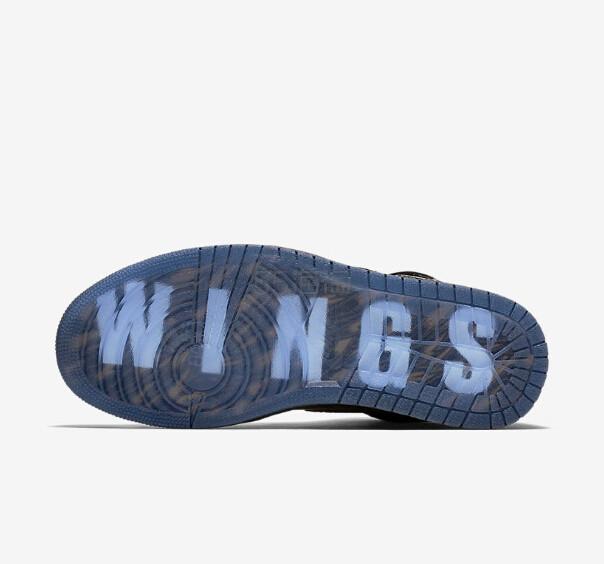 """【新品发售!】NIKE 耐克 AIR JORDAN I """"WINGS"""" 男款篮球鞋 1599元"""