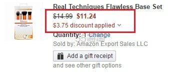 【美亚直邮】Real Techniques 脸部化妆套刷4支装 $11.24(约81元)