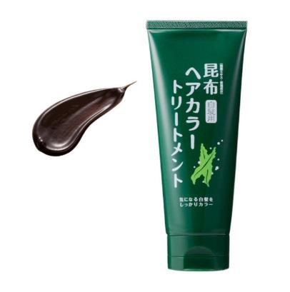 天然植物染发剂:Ozio Nachulife 奥兹奥海带白发专用染发剂(棕褐色)3240日元(约207元)