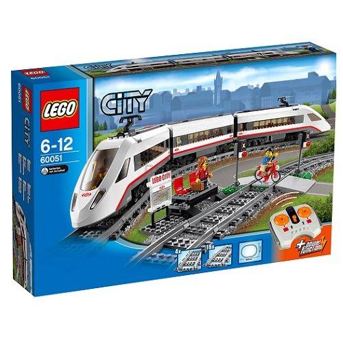 德国直邮!Lego 乐高 城市系列 60051 遥控轨道火车 93.77欧(约723元)