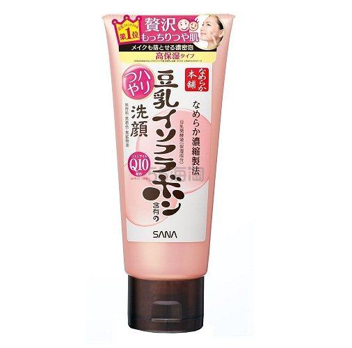 【中亚Prime会员】NAMERAKA Sana 豆乳异黄酮 Q10 洁面乳150g 凑单到手价55元