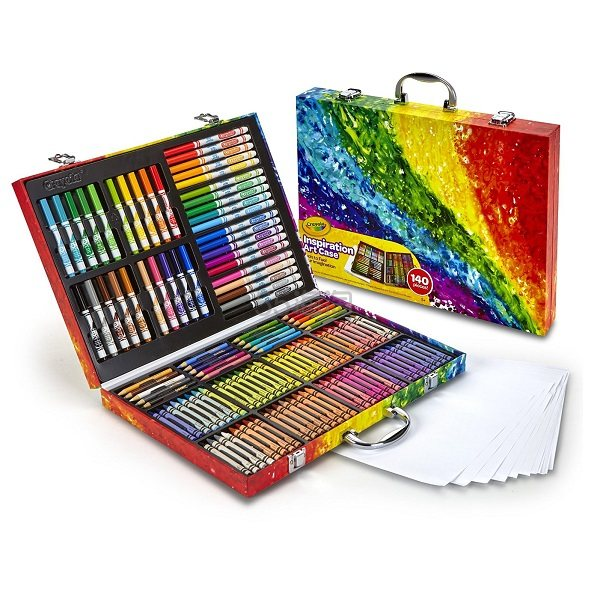 【中亚Prime会员】Crayola 绘儿乐 创意展现艺术珍藏礼盒 到手价170元