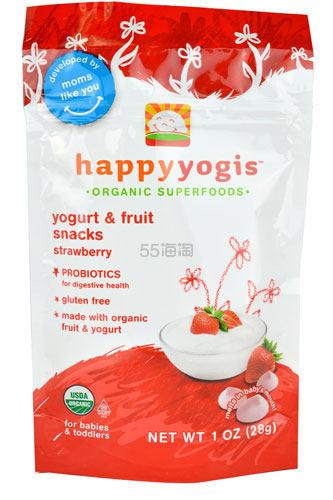 Happy Baby 禧贝 草莓味有机溶溶豆28g   .52(约25元)