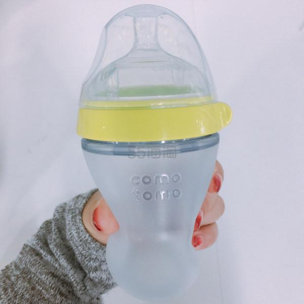 【5姐晒单】买到就是赚到的白菜!Comotomo 绿色奶瓶 250ml 两只装
