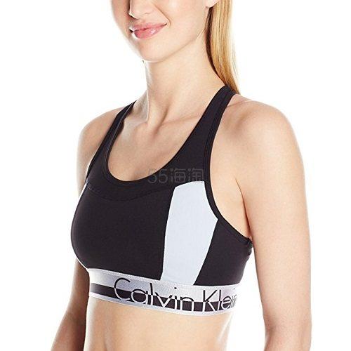 【美亚自营】Calvin Klein Logo Elastic 女士运动内衣 $12.19(约88元)