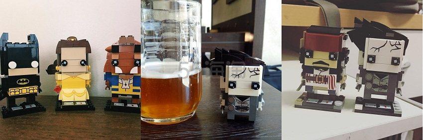 【儿童节专享】The Hut:Lego 乐高 Brickheadz 大头公仔 9折!