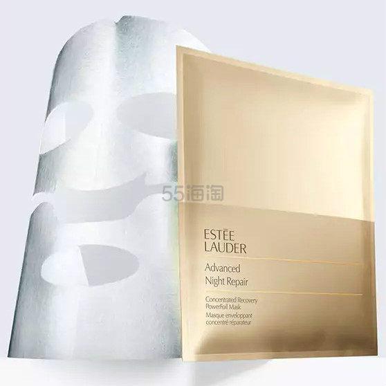 Estee Lauder 雅诗兰黛 小棕瓶 ANR密集修护肌透面膜 钢铁侠面膜 一片装 .6(约127元)