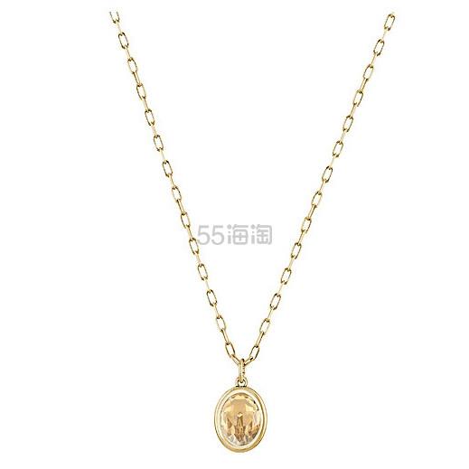 【5折好价!】Swarovski 施华洛世奇 Laser 镶水晶项链 (约290元)