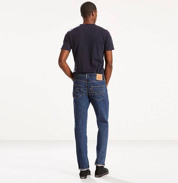 【热卖!】Levi's 李维斯 501 男士经典直筒牛仔裤 $40(约290元)