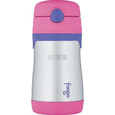 【美亚自营】Thermos 膳魔师 Foogo 蓝色不锈钢保温杯 300ml .7(约56元)