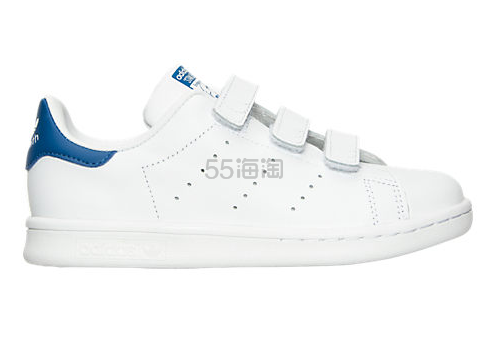 Adidas Originals 三叶草 Stan Smith 魔术贴小童款运动鞋 $29.98(约217元)