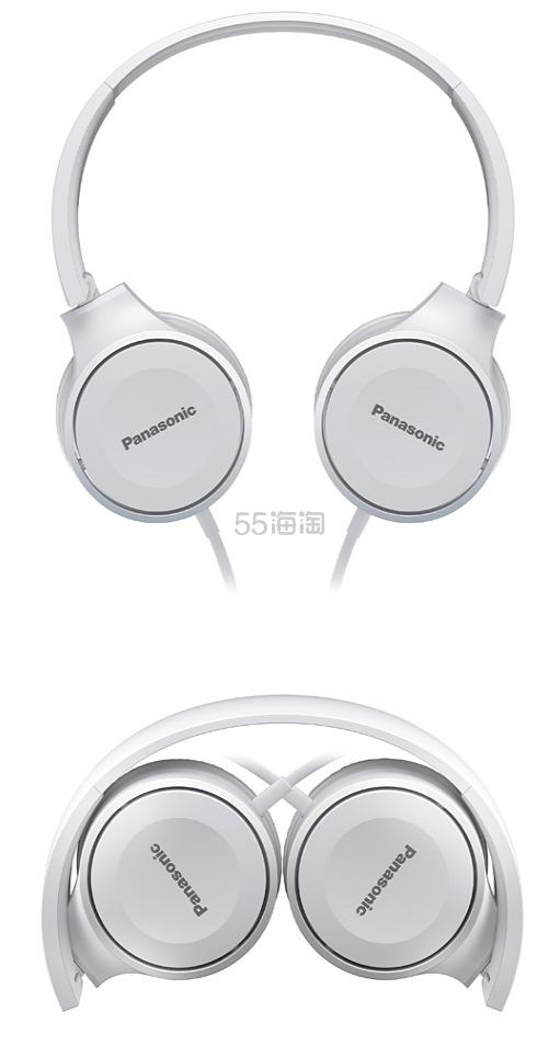 【中亚Prime会员】Panasonic 松下 RP-HF100M-W 头戴式耳机 到手价138元