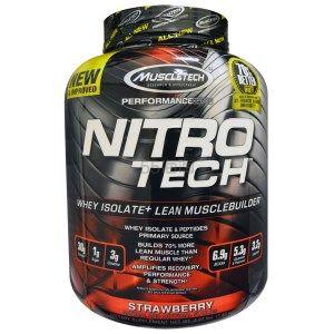 Muscletech 肌肉科技 草莓味味 乳清蛋白粉 1.8kg  .94(约253元)