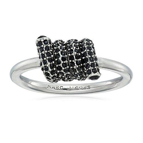 【美亚直邮】 Marc Jacobs Pave Twisted 扭转戒指 .04(约167元)