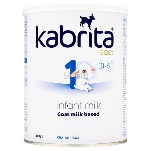 【中亚Prime会员】Kabrita 佳贝艾特 1段山羊婴儿奶粉 800克 到手价196元